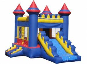 sulleys-castle-jump-slide-combo